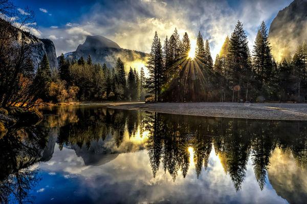 Yosemite Sunrise...