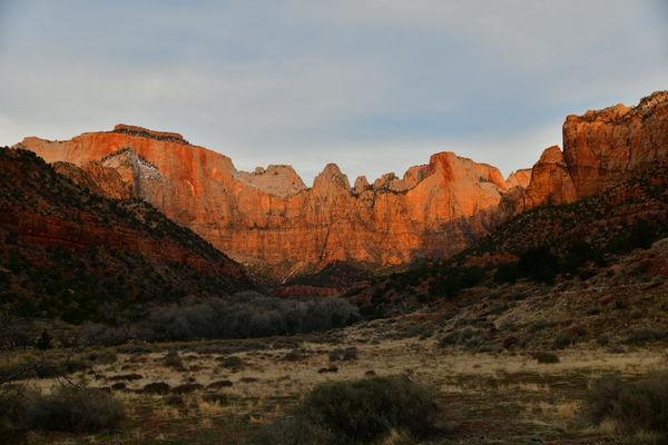 Zion Sunrise...
