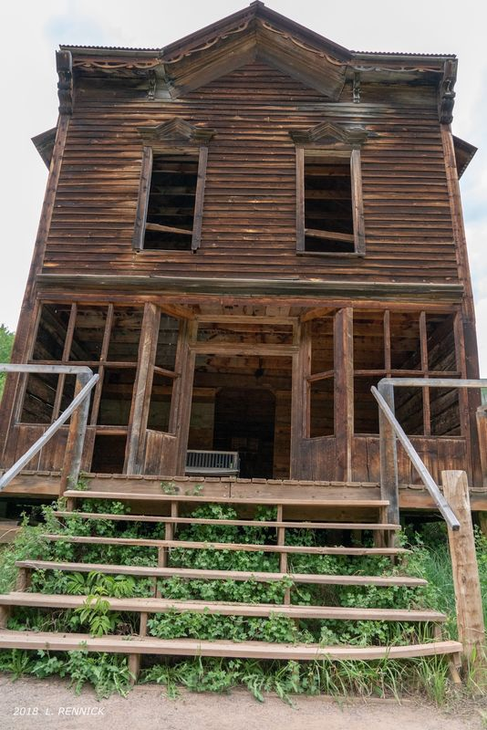 Hotel - 1800's Ashcroft Ghost Town...