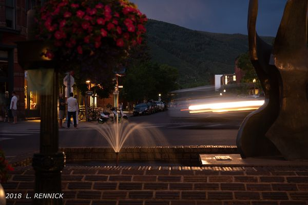 Long exposure @night in Aspen...