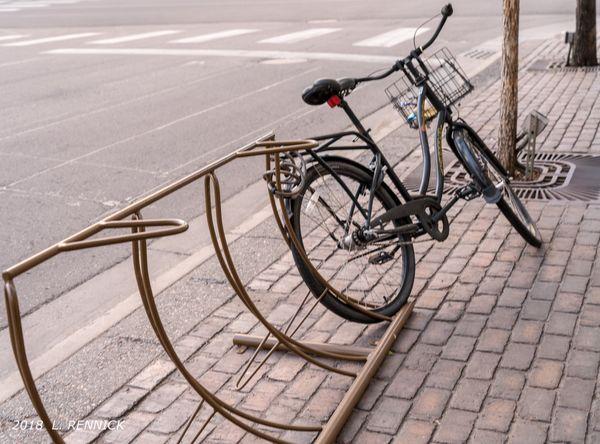 Lone bike...