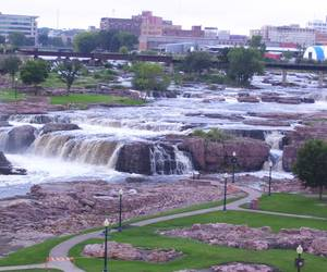 Sioux Falls from the Observation Tower...
