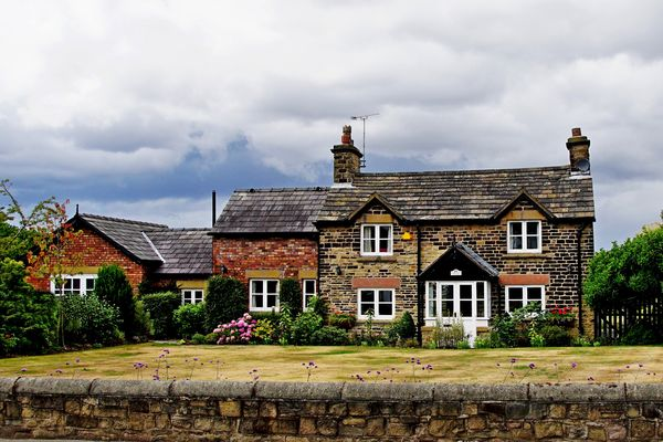 A lovely old cottage...