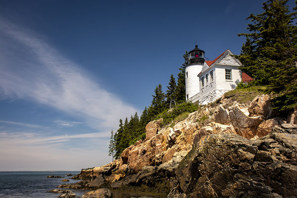 Photo 1– The iconic Bass Harbor Lighthouse...