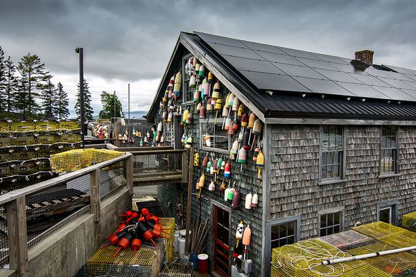Photo 7- Lobster equipment shack- (MDIsland}...