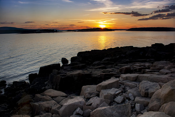 Photo 10- Sunset from Schoodic Peninsula...