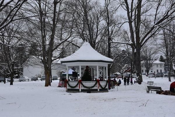 Weston, Vermont Town Square...