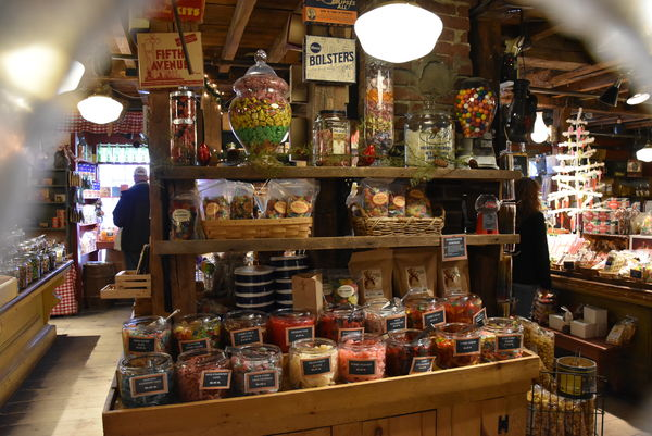 Inside the Vermont Country Store...