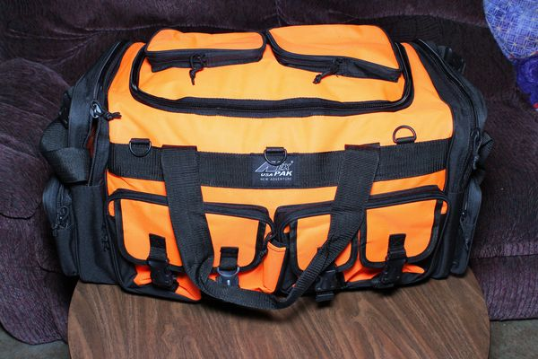 New Bag just got last month to hold more...