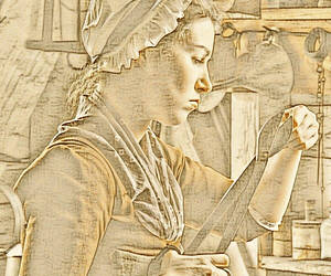"""Used a """"Leonardo"""" filter compliments of Lunapic do..."""