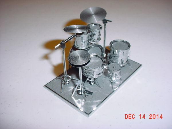 Back side of drum set...