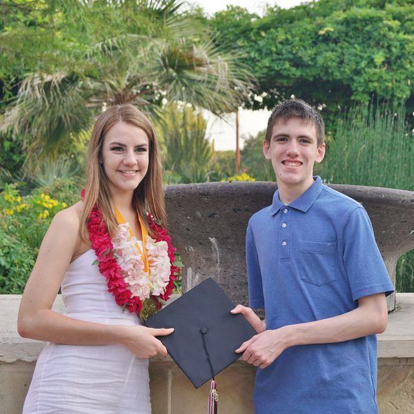 Grand Twins graduating High School in June....