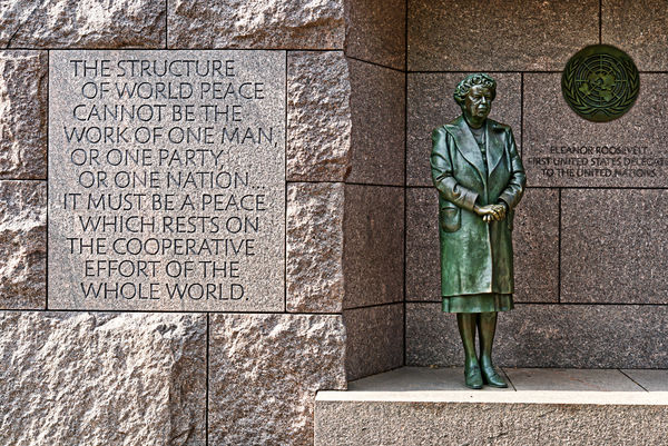 Eleanor Roosevelt - the first US delegate to the U...