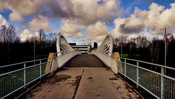 The Stephen Prescott MBE Bridge that leads on to t...