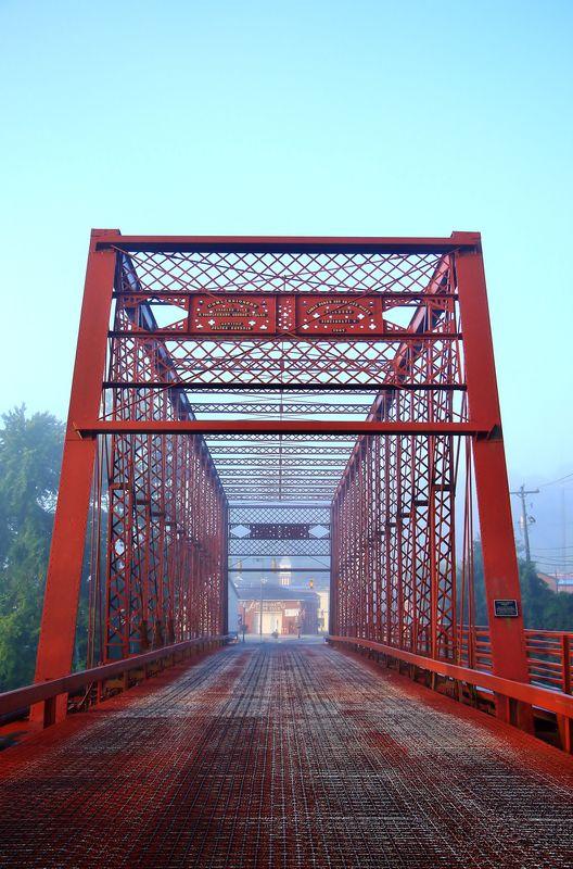 George Street bridge, in Aurora, In....