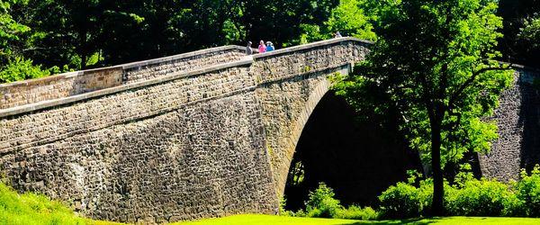Stone Bridge on old National Highway...