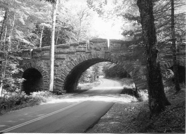 Carriage Path Bridge...