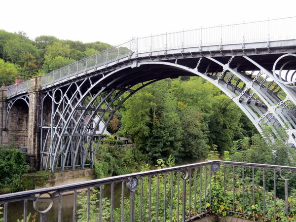 England (world's first iron bridge)...
