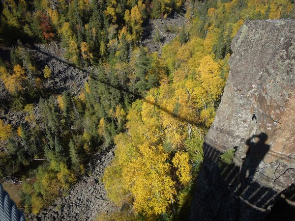 (7) Shadow that the Suspension Bridge is casting w...