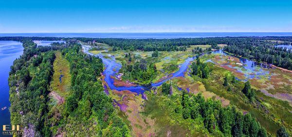 Presque Isle Lagoons...
