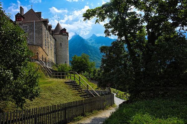 Chateau de Gruyeres (Gruyere Castle)...