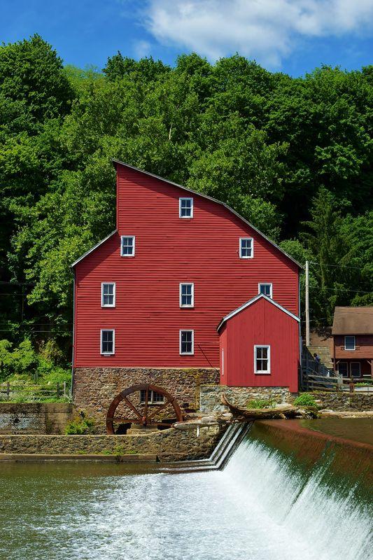 Historic Clinton Falls Gist Mill...
