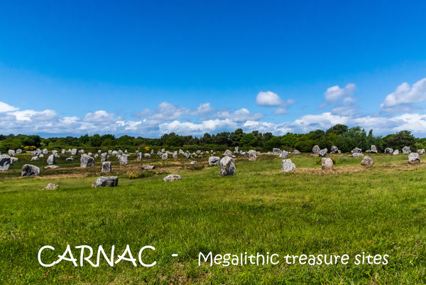 2272 - Carnac: Megalilthic stone fields...