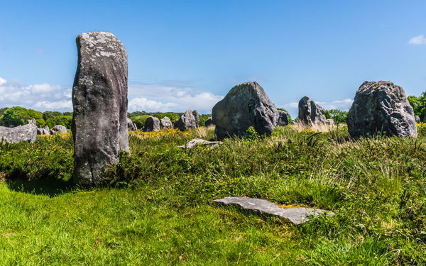 2292 - Carnac: Giant Megalithic Standing Stone...