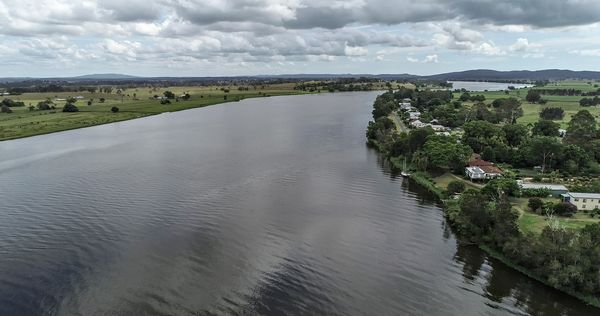The Clarence River....