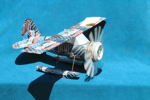 Plane made from pop cans...