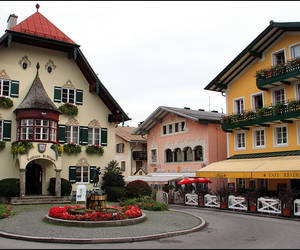 #1 Part of the village square...