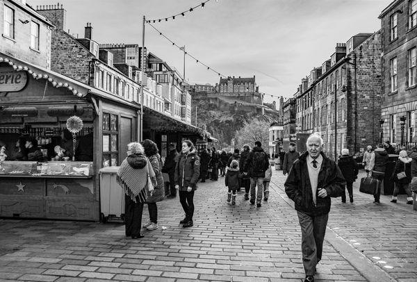 Castle Street, Edinburgh...
