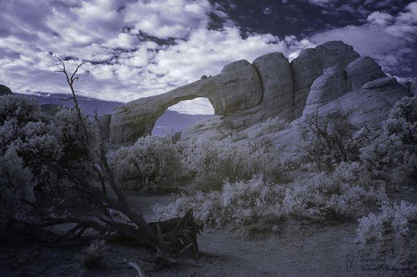 Skyline Arch in IR...