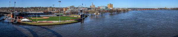 Davenport from Centennial Bridge....