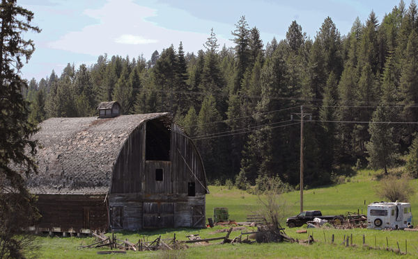 There are more old barns per square mile than I've...