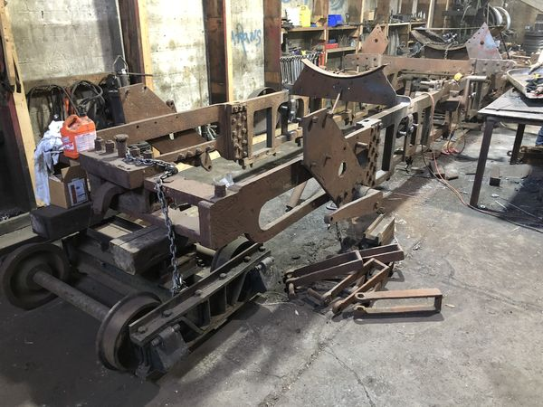 3. The is the loco frame. I think the wheels are t...