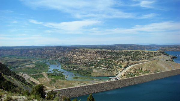 Northwest New Mexico: Navajo Dam and Lake and the ...