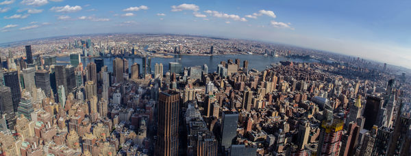 My favorite city scape...NYC taken from the Empire...