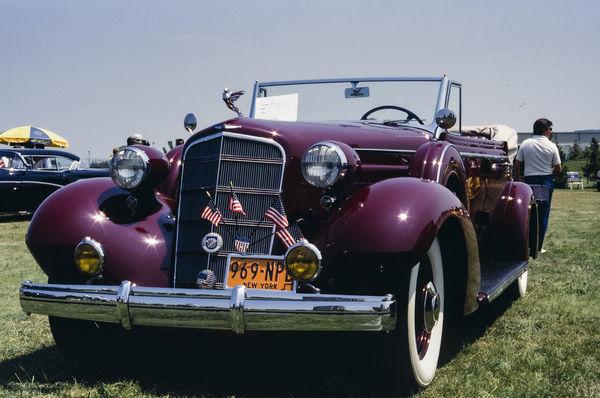 1935 Cadillac...