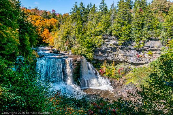 Blackwater Falls, West Virginia's highest....