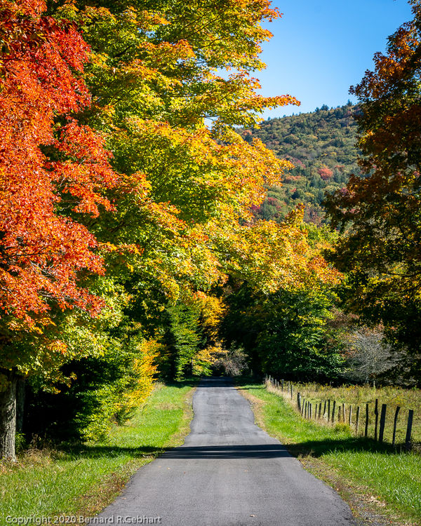 """A West Virginia """"country road""""..."""