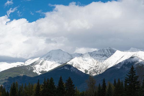 Mission Mountain range...
