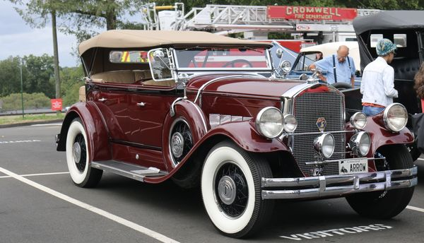 Pierce Arrow- I think 1933...