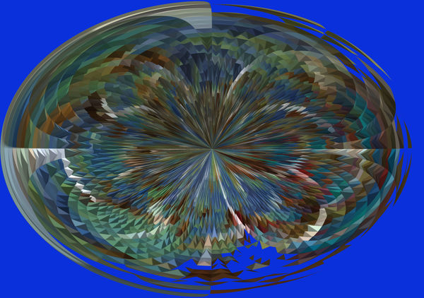 Then ran it through the routine to create a globe,...