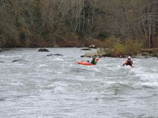 Kayakers on Green River....