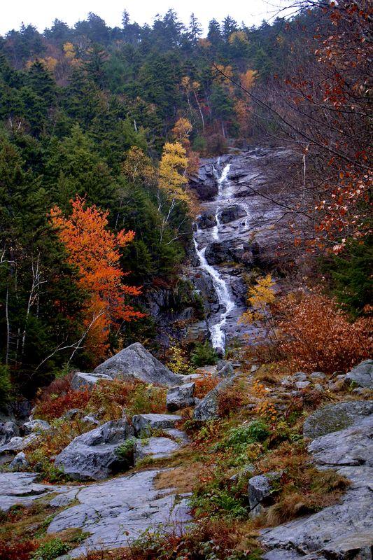 Silver Cascade falls, Crawford Notch N.H....