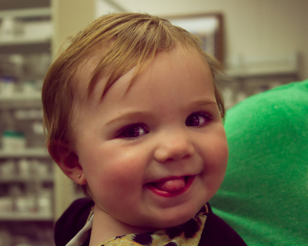 Hayes 11 months old...