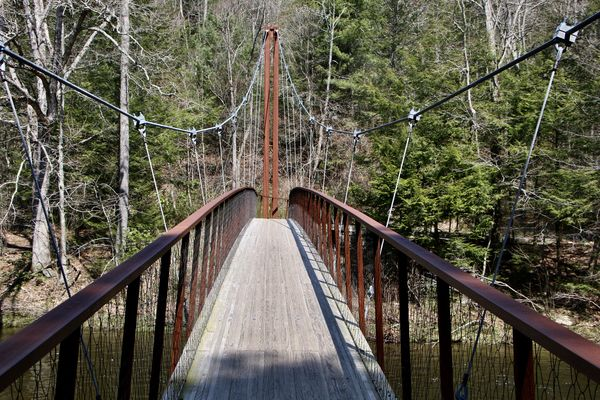Another view-bridge moves when you walk!!...