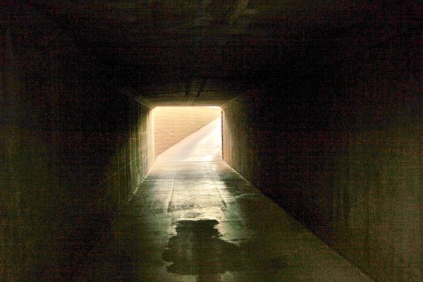 Light at the end of the tunnel....