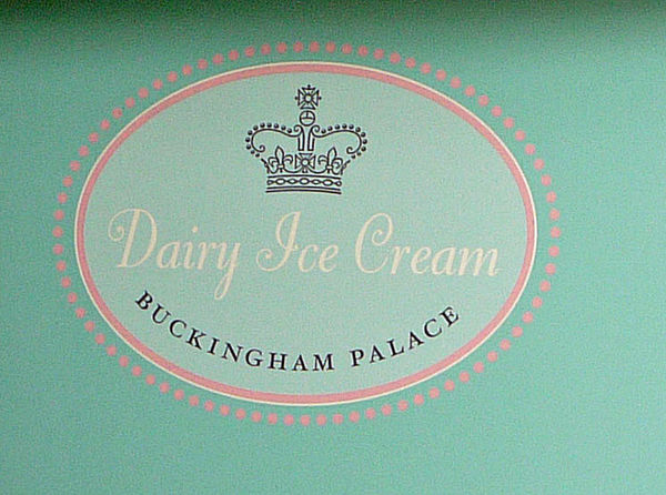 Who knew you could buy a cone from the Queen?...